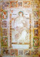 Царь Давид, играющий на ротте