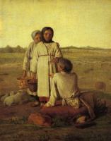 Крестьянские дети в поле. 1810-е
